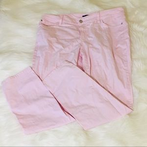NYDJ Light Pink Ankle Jeans!